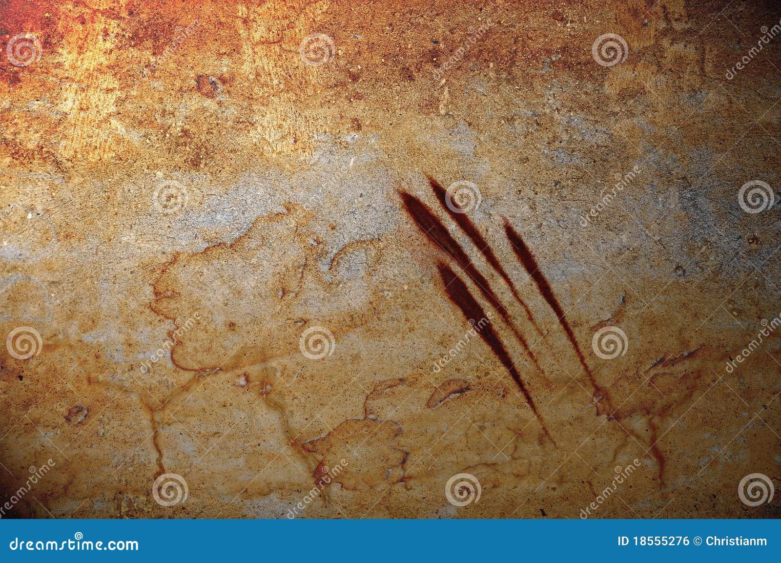 Blodig jordluckraregrunge för bakgrund