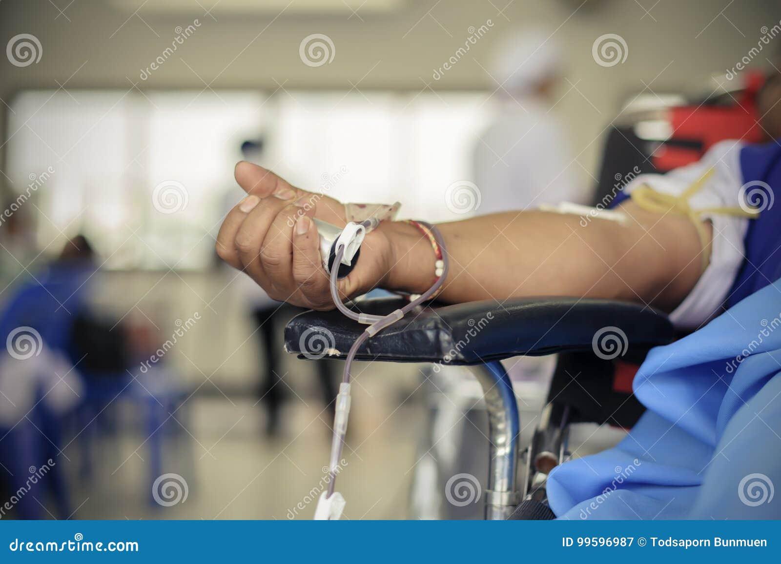 Bloeddonatie aan het Nationale Congres