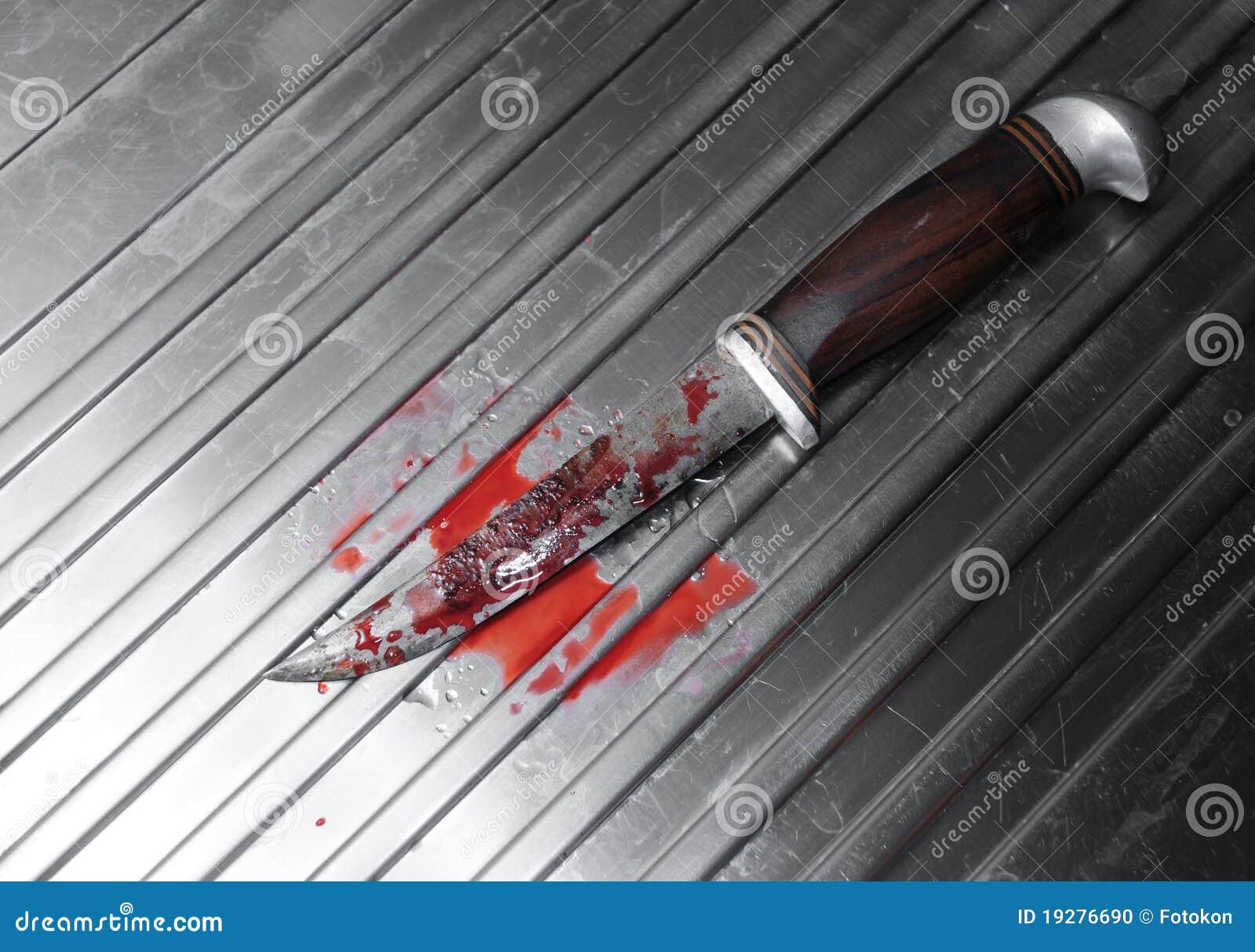 Bloedig mes
