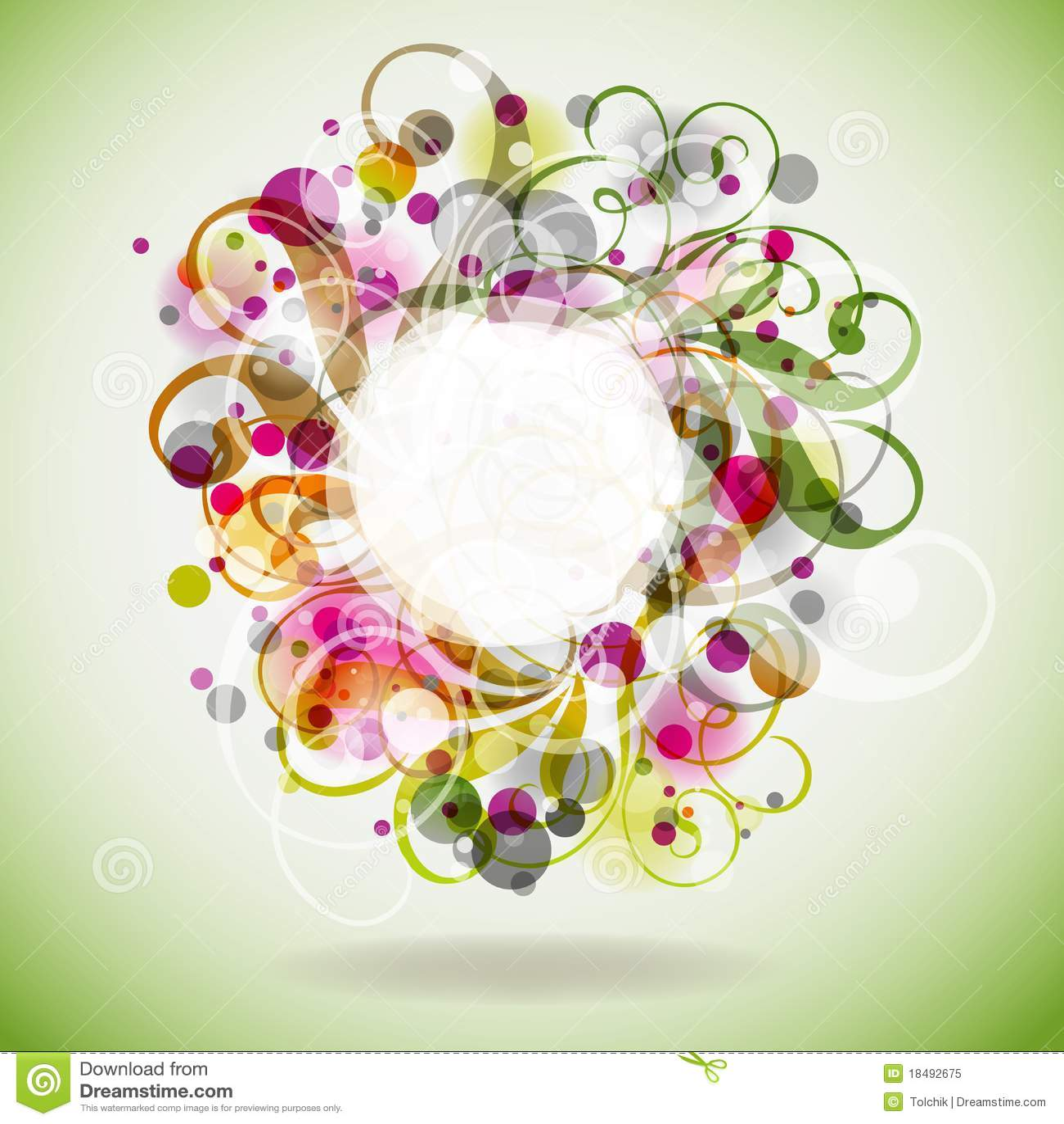 Bloemen achtergrond, eps10