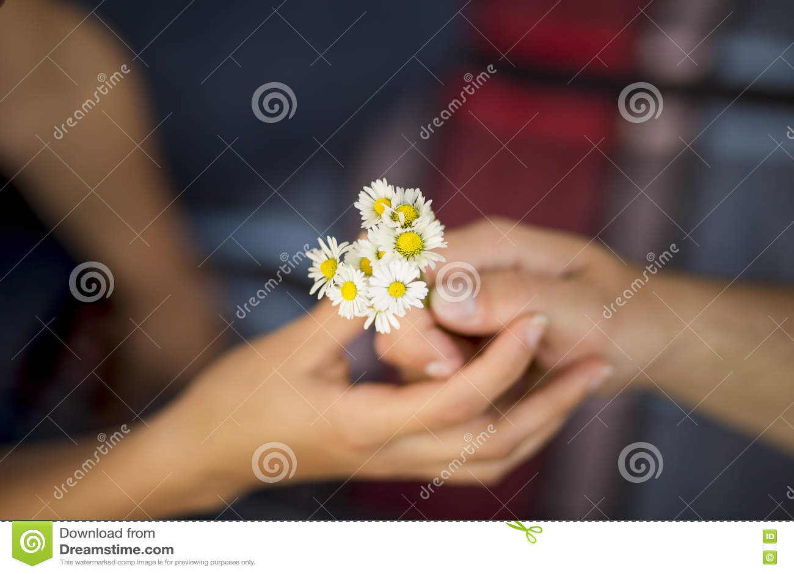 Bloemen als gift