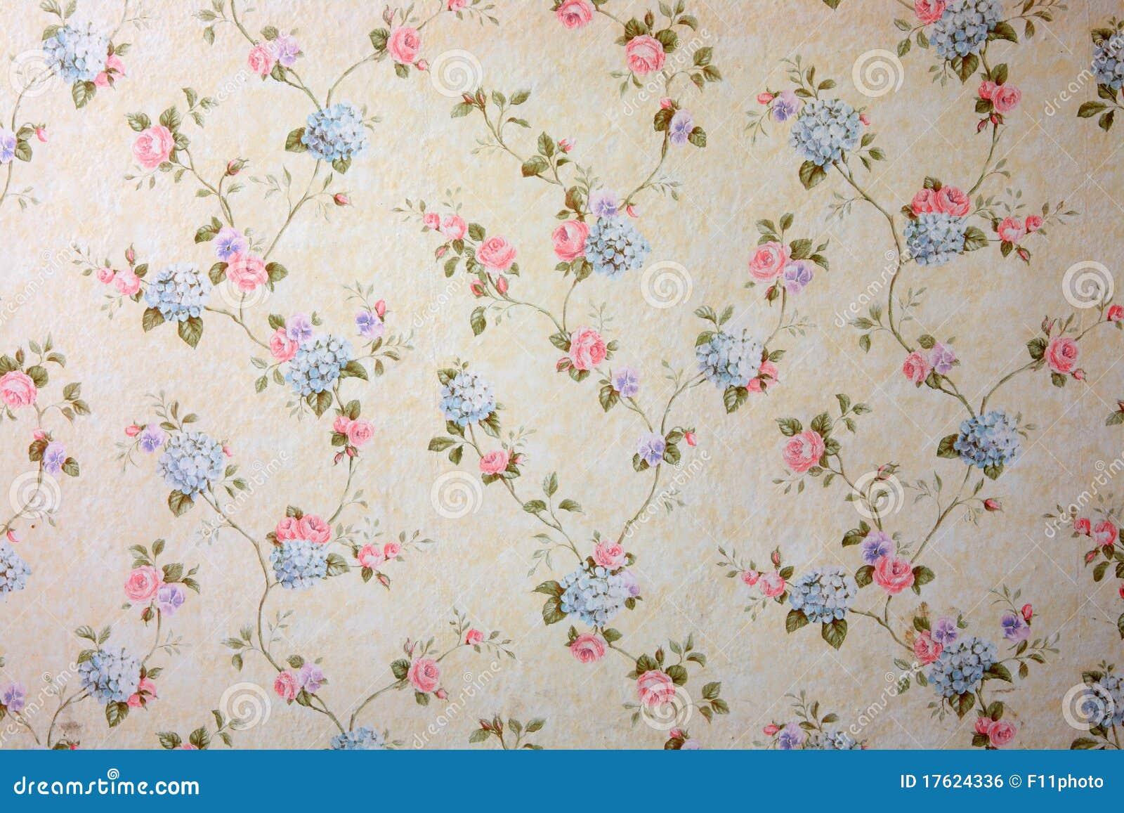 Bloemen Behang Royalty-vrije Stock Afbeelding - Beeld: 17624336: nl.dreamstime.com/royalty-vrije-stock-afbeelding-bloemen-behang...