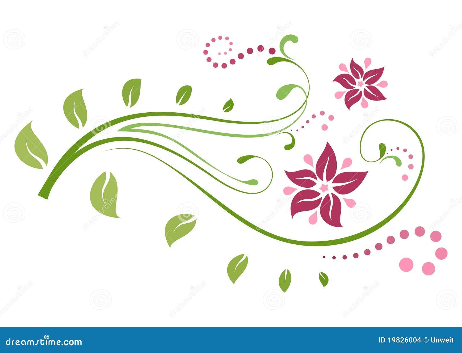 Bloemen decoratie stock afbeeldingen afbeelding 19826004 - Decoratie afbeelding ...