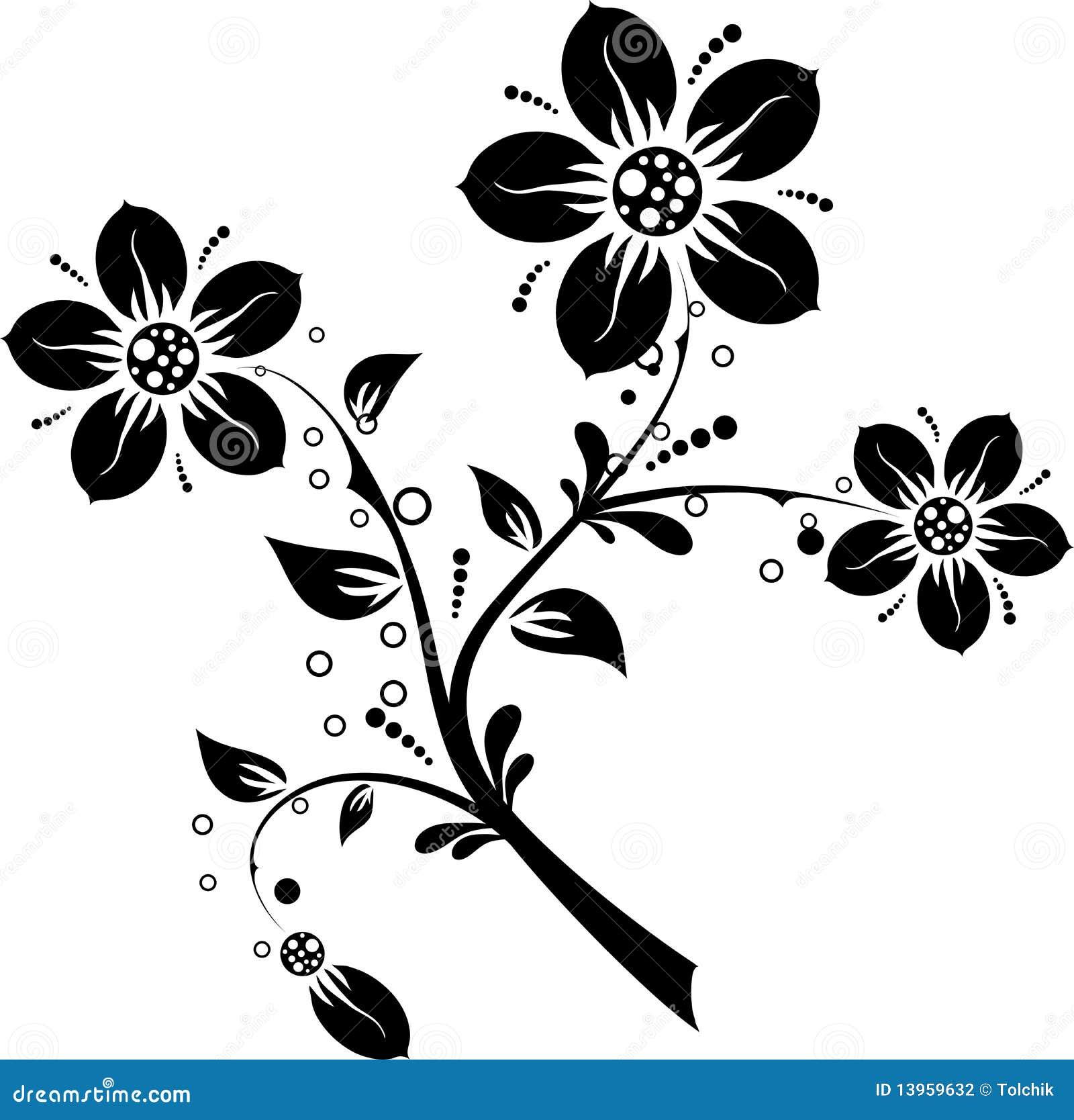 Bloemen elementen voor ontwerp,