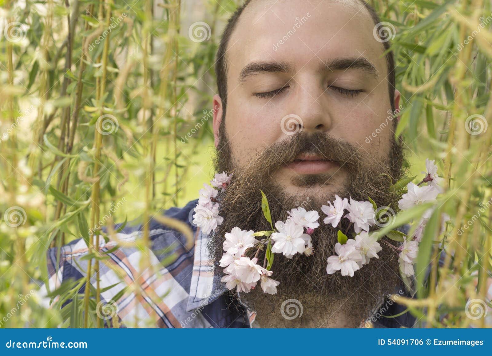 Bloemen Gebaarde Mens