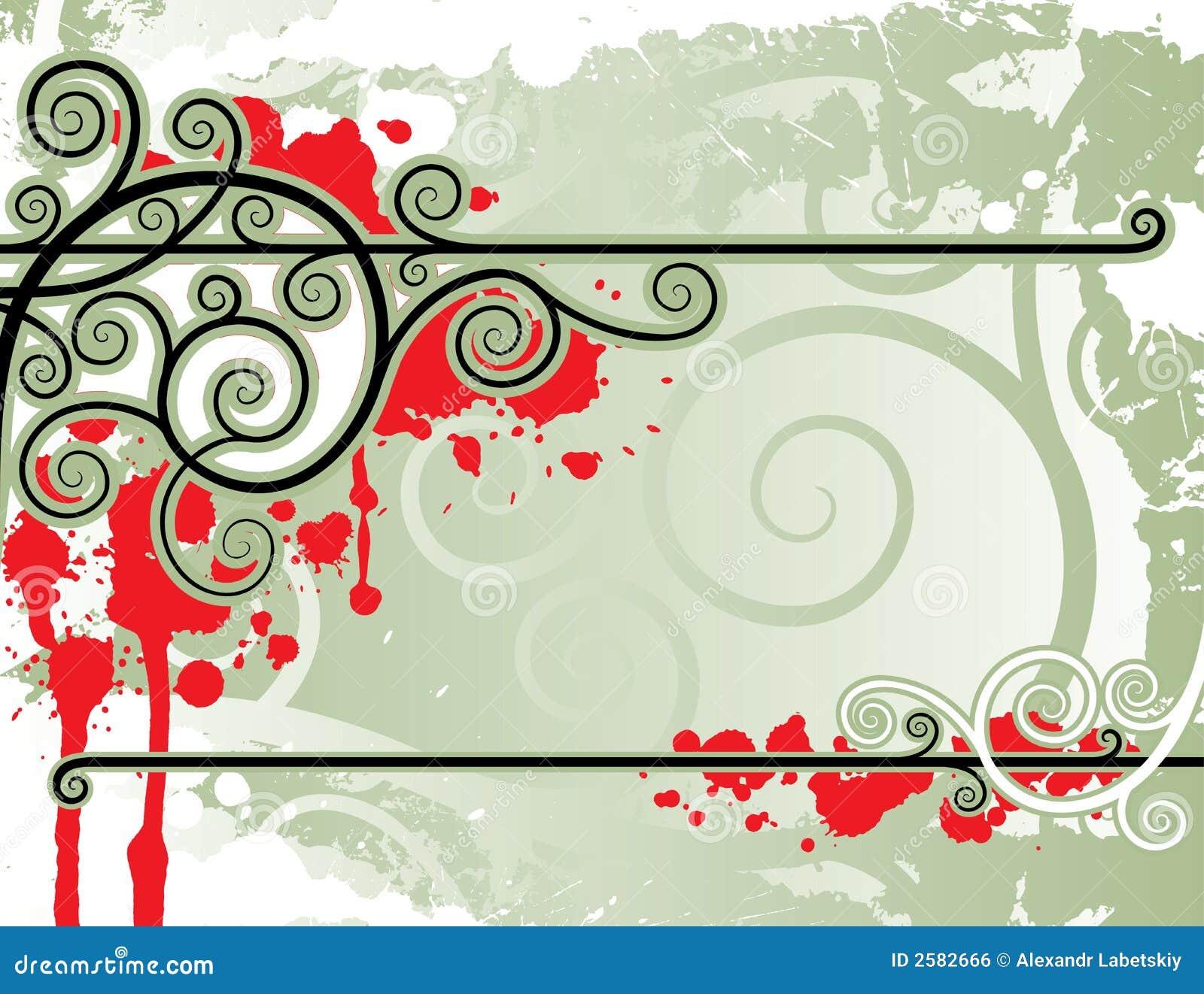Bloemen lijnen