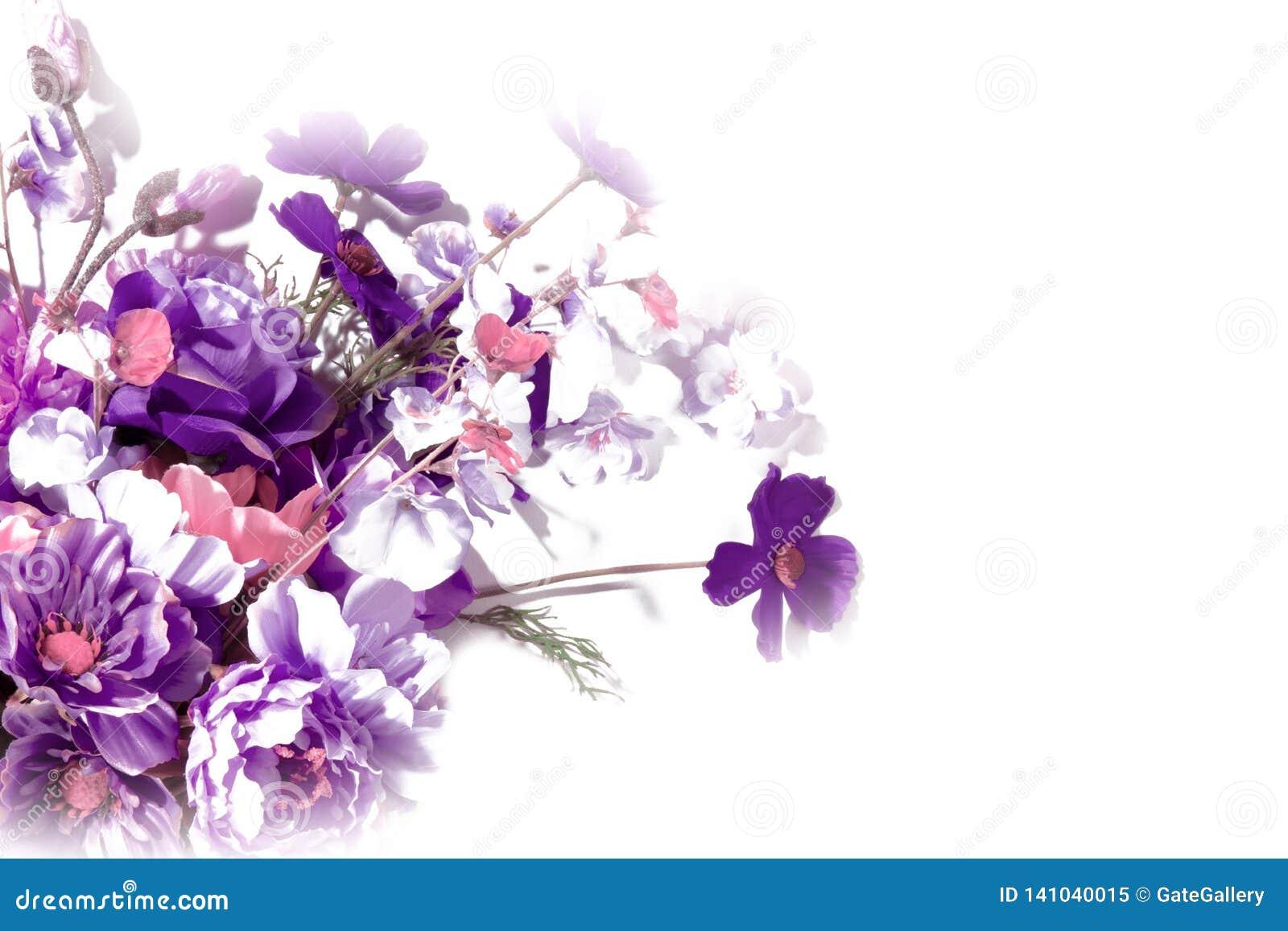 Bloemen op Wit, Wild Bloemboeket