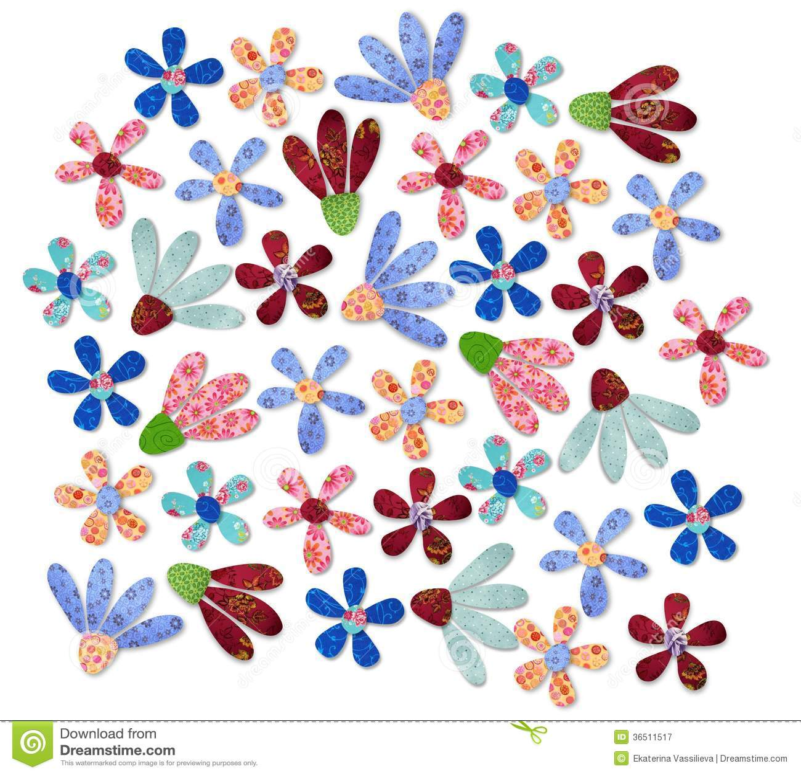 Bloemenachtergrond