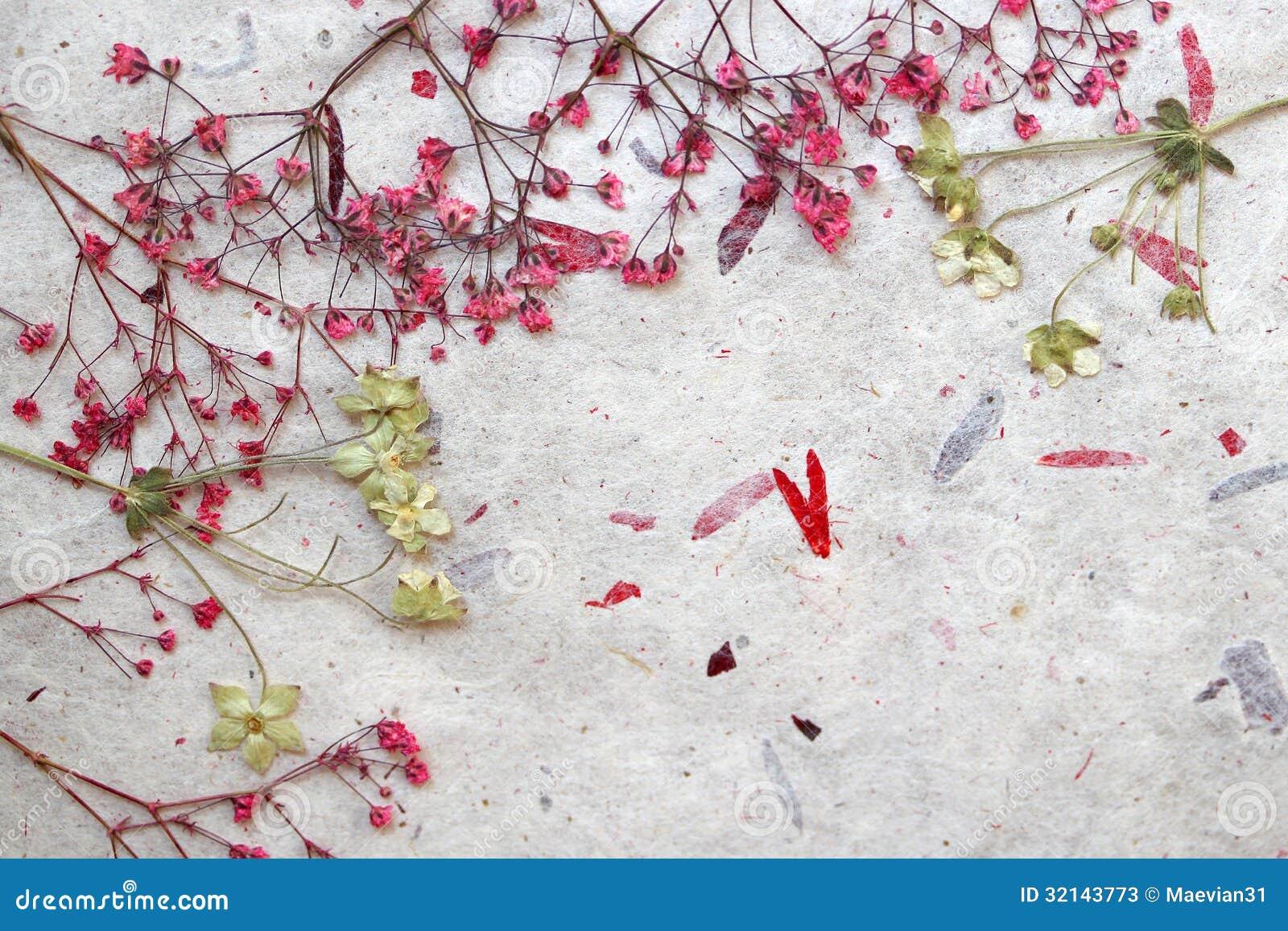 Bloemenfantasieachtergrond