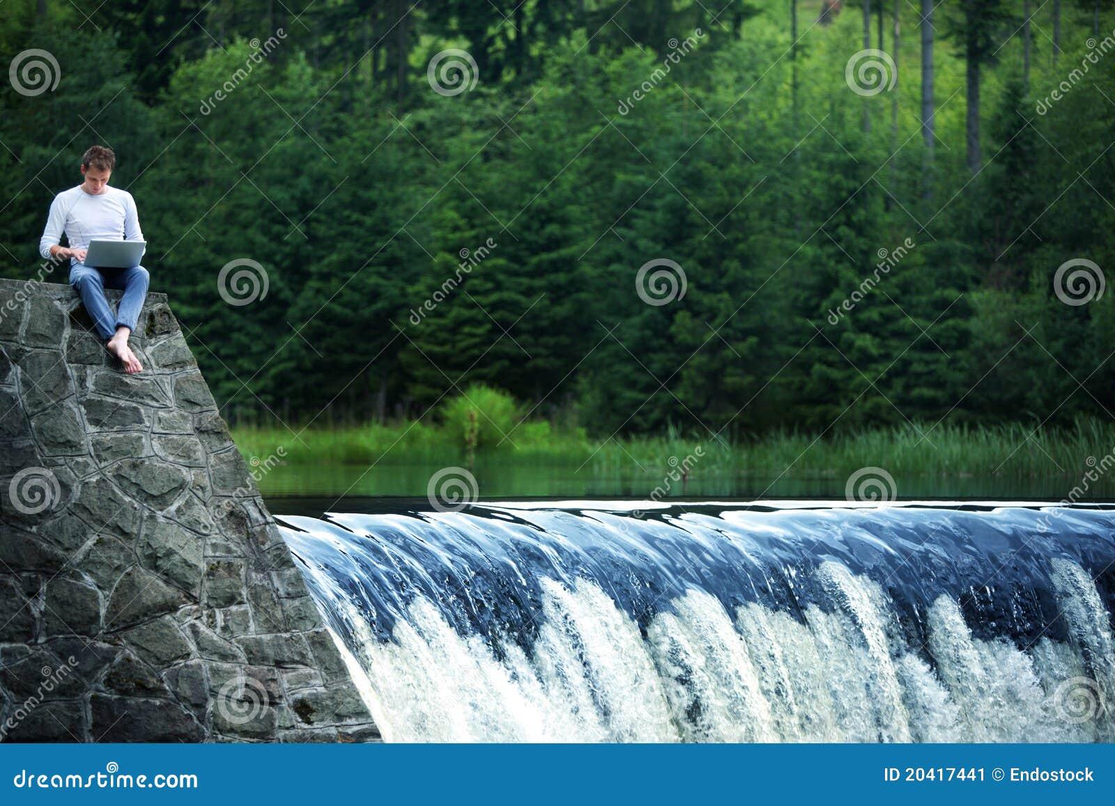 Blogging in nature