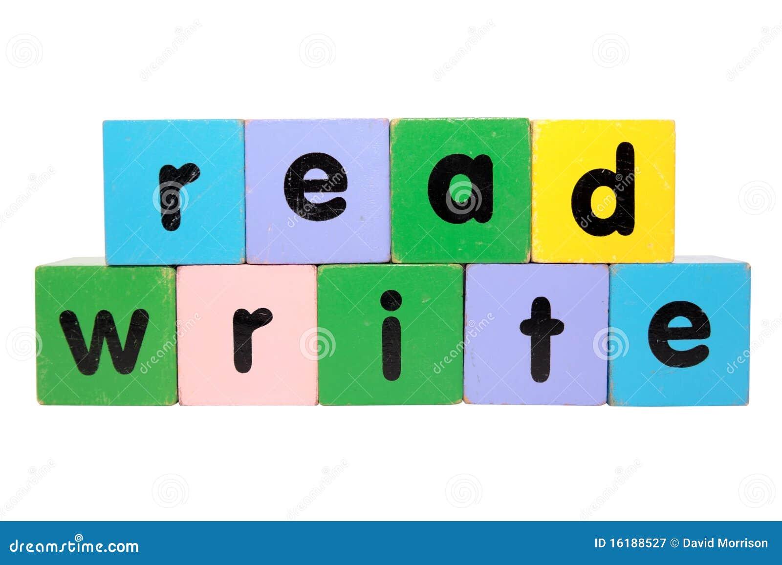 Bloków read zabawka pisze