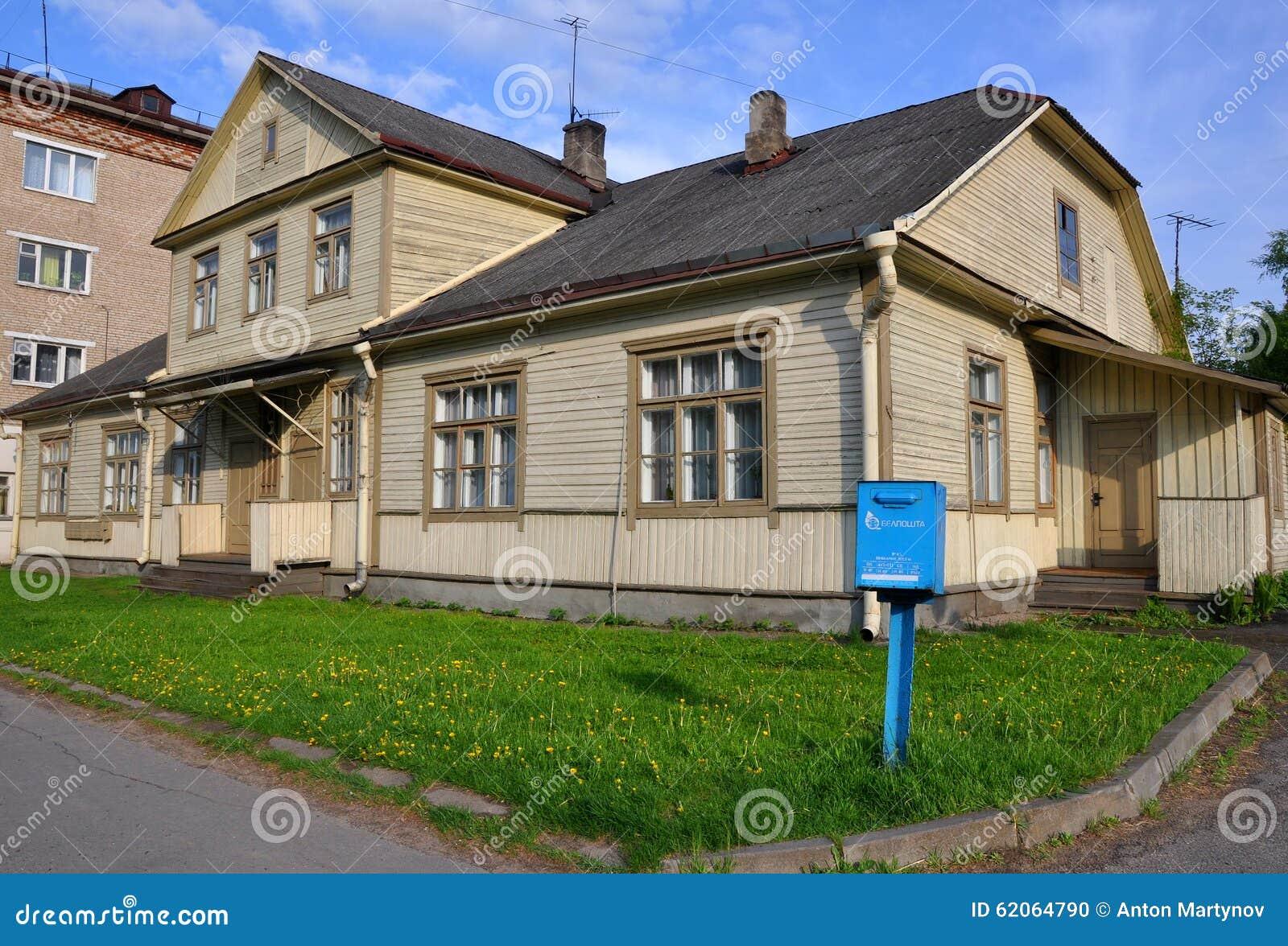 Blokhuis in Baranovichi wit-rusland