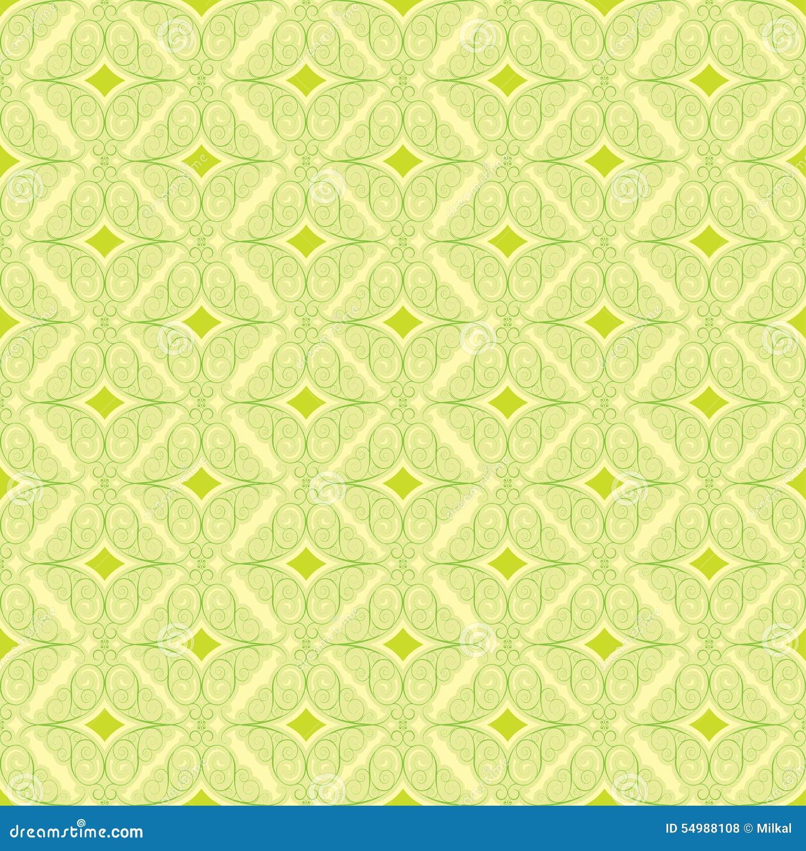 Blom- grön modell för bakgrund