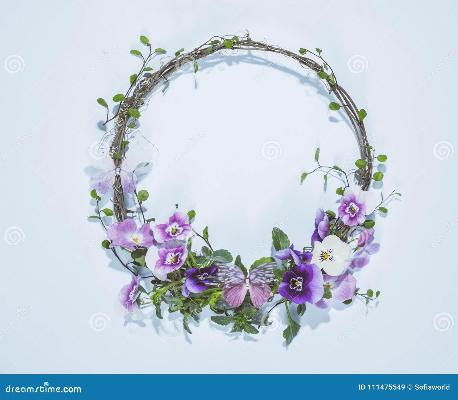 Blom- krans