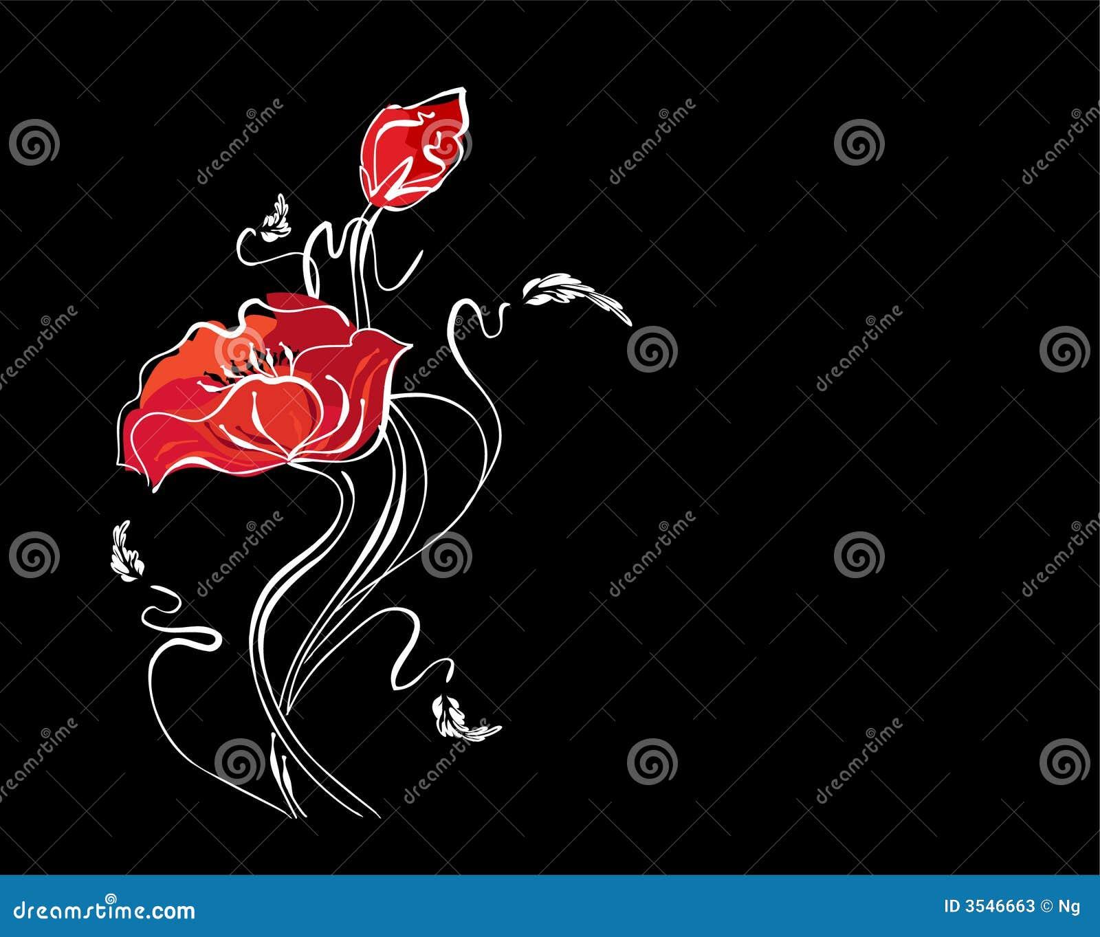 Blom- nätt för bakgrund