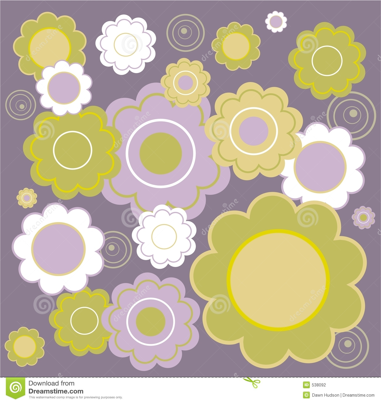 Blom- tegelplatta