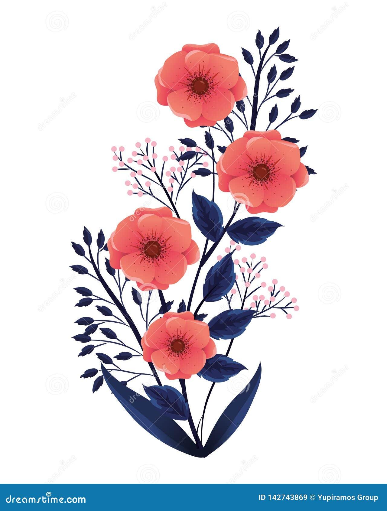 Blom- tropisk tecknad film