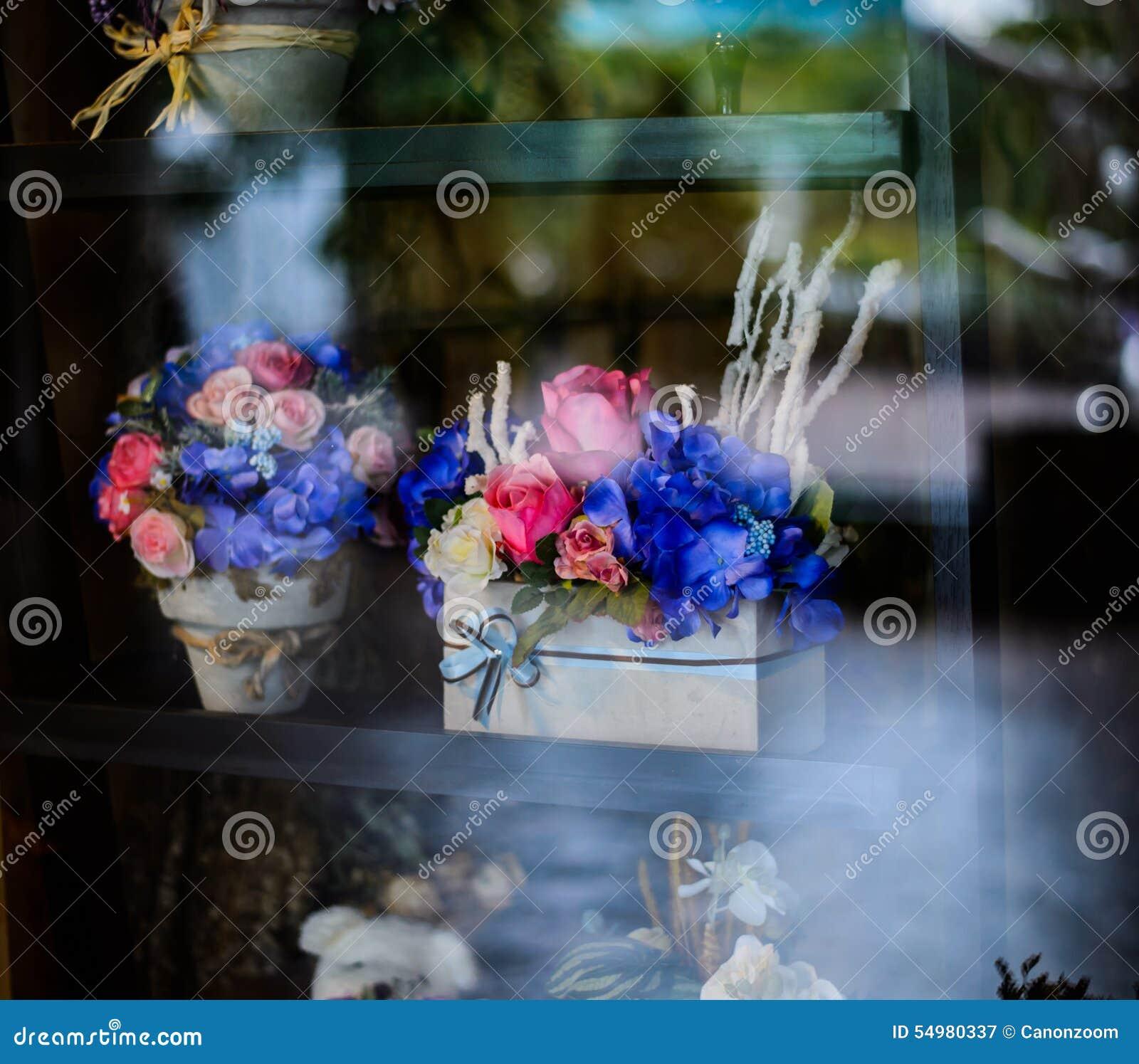 Blomma, i stil, ferie och att gifta sig för krukatappning blom- decorati