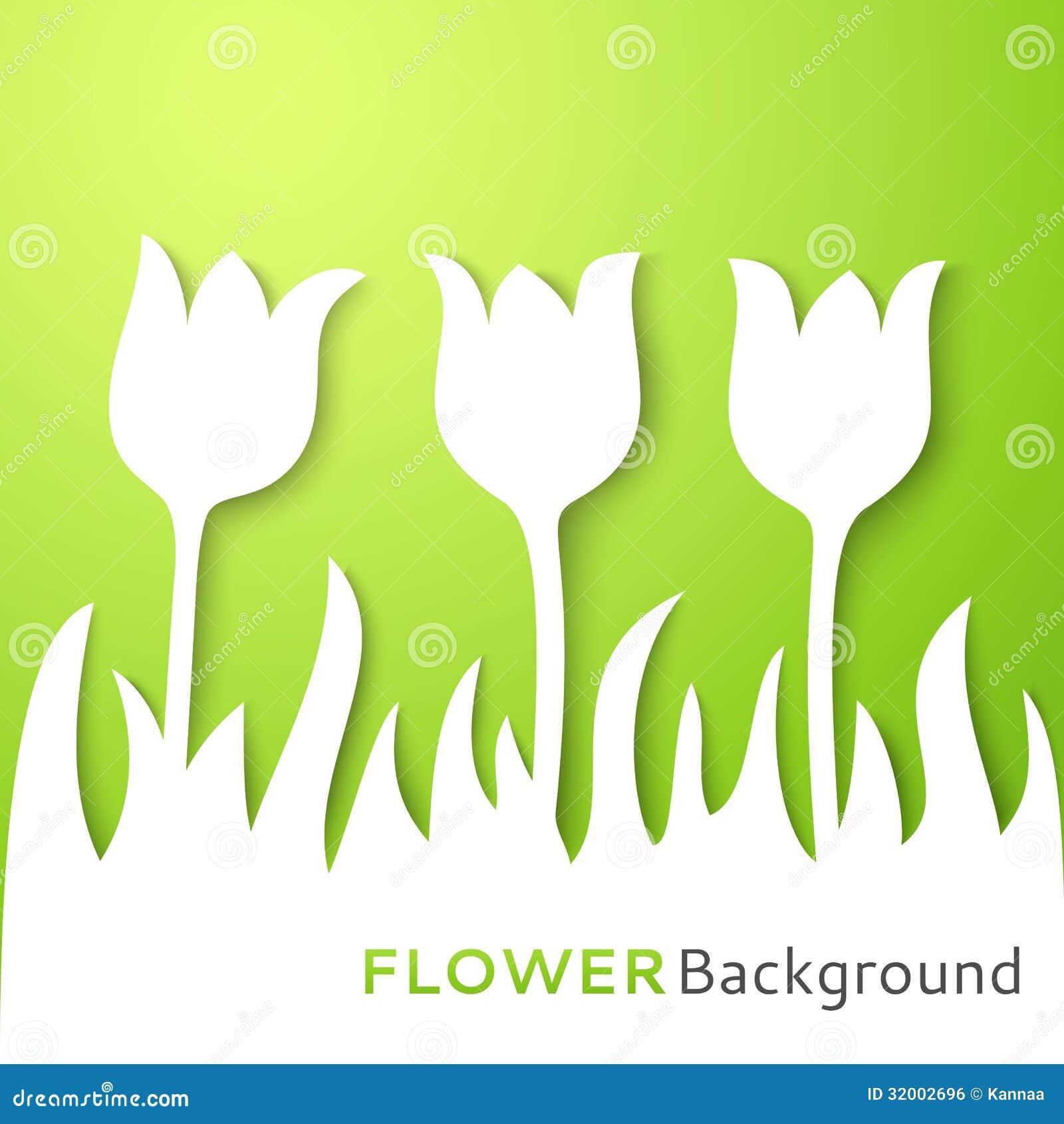 Blommaappliquebakgrund. Vektorillustration