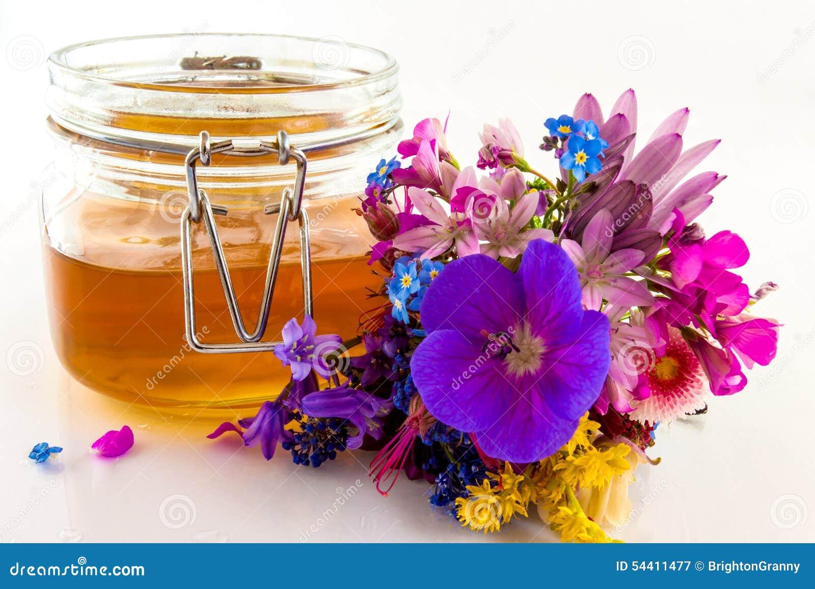 Blommar honung