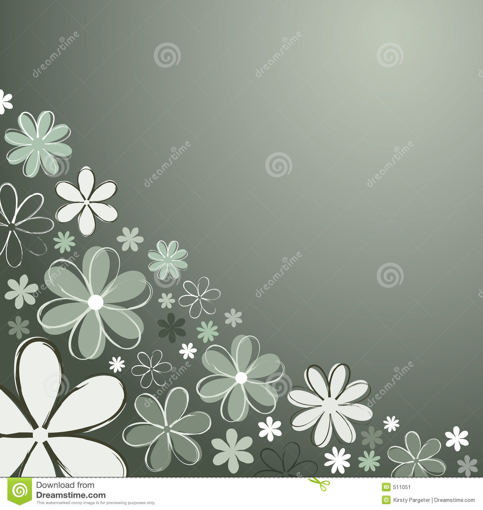 Blommar retro