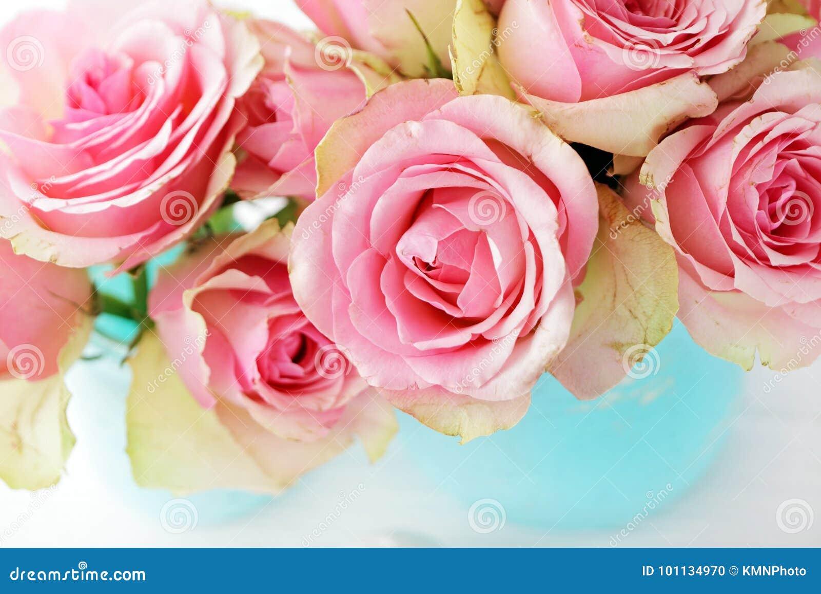 Blommar vasen