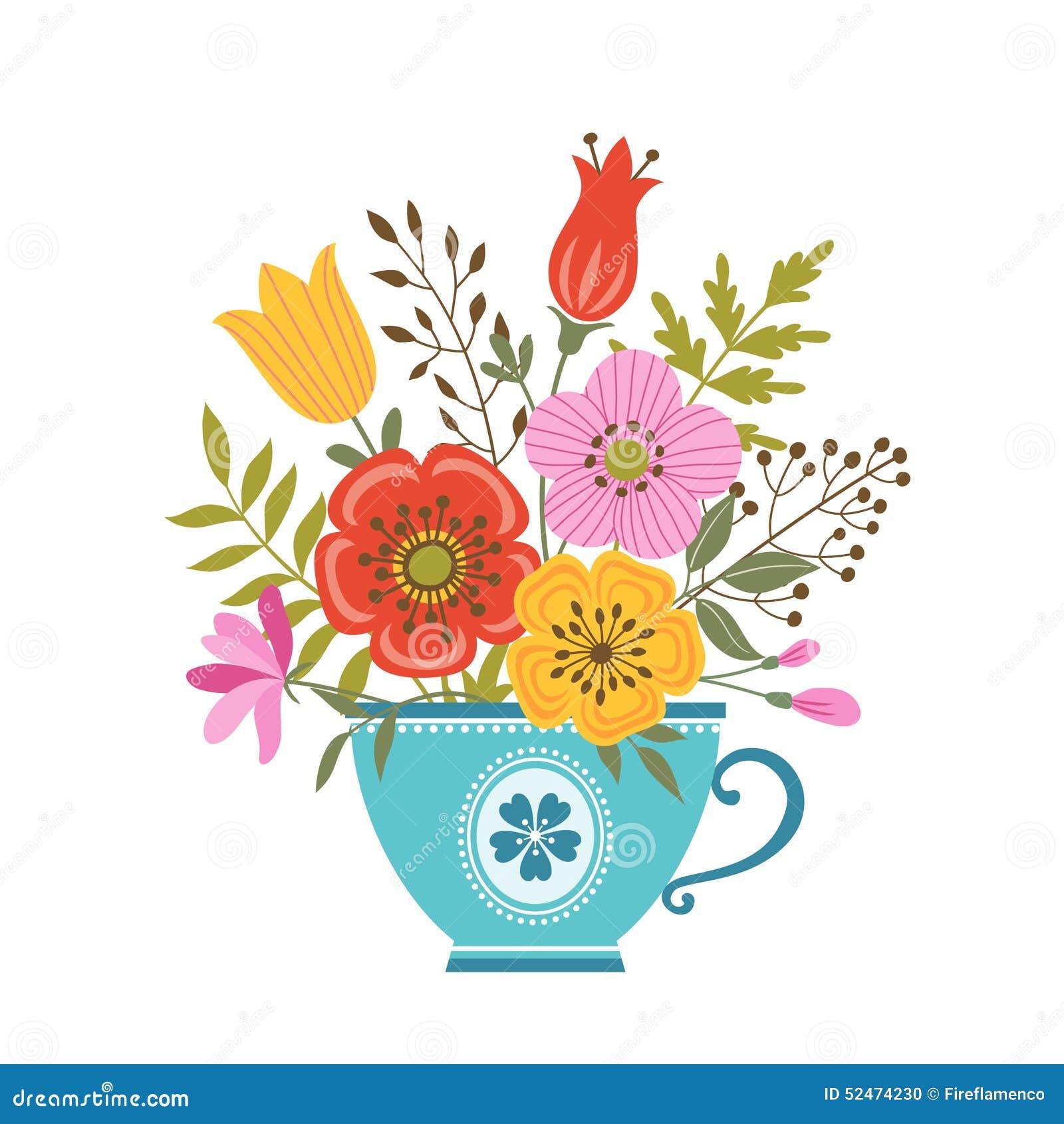 Blommatekopp