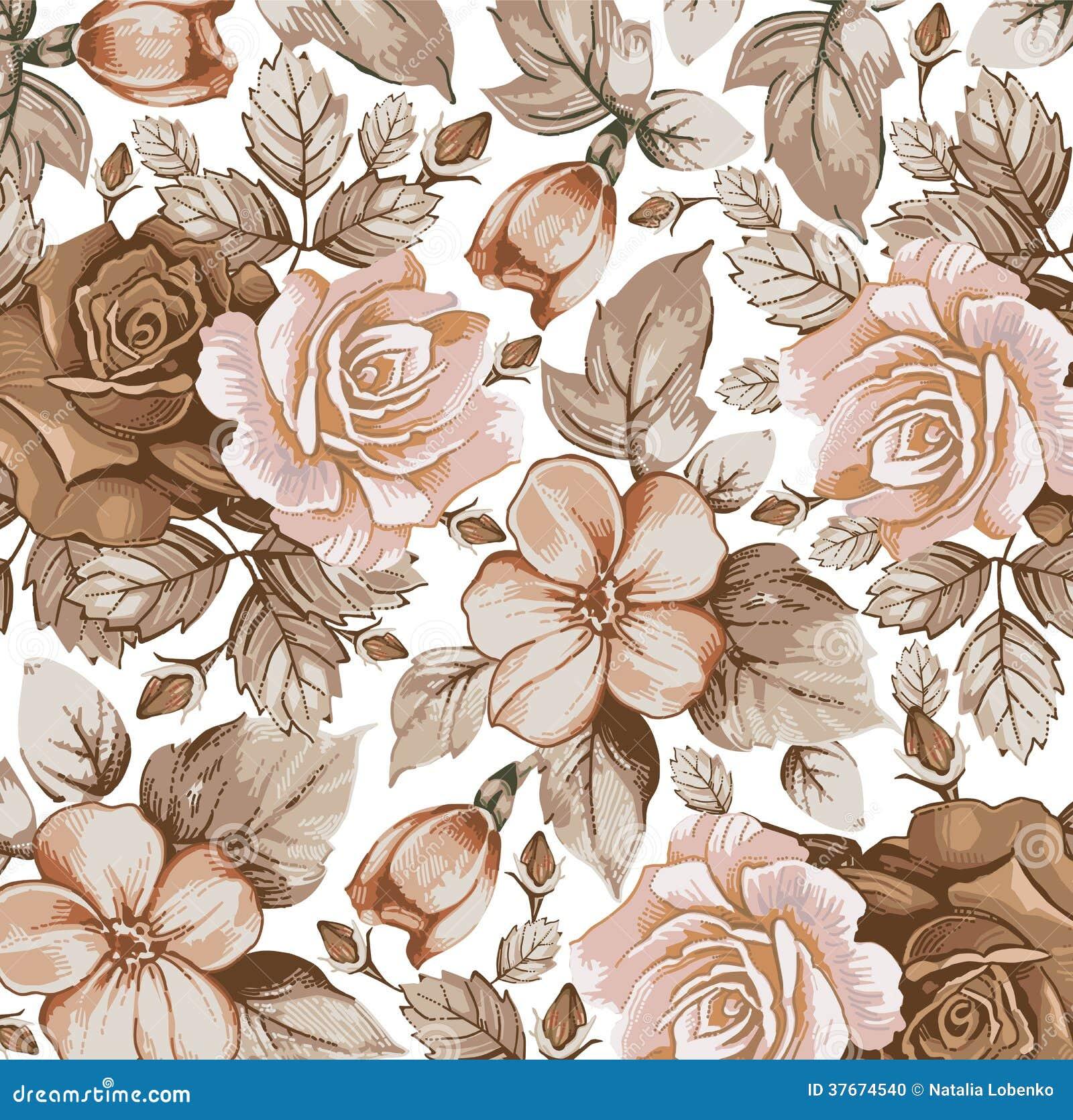 Blommor. Rosor. Härlig bakgrund.