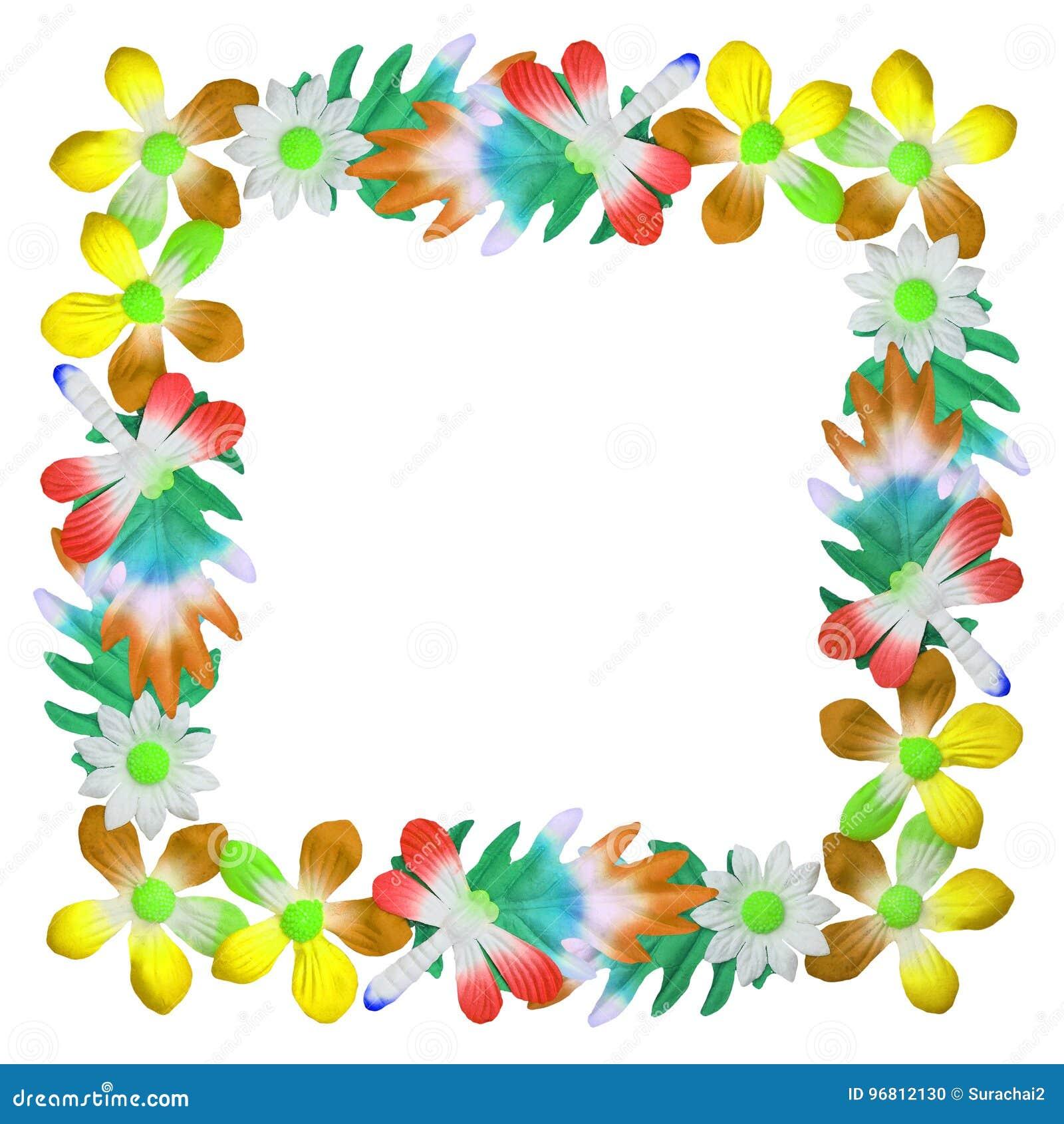 Blommor som göras av färgrikt papper som används för garnering