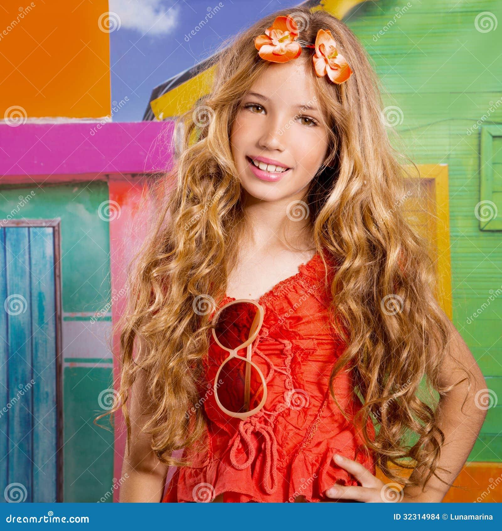 Blond Children Happy T...