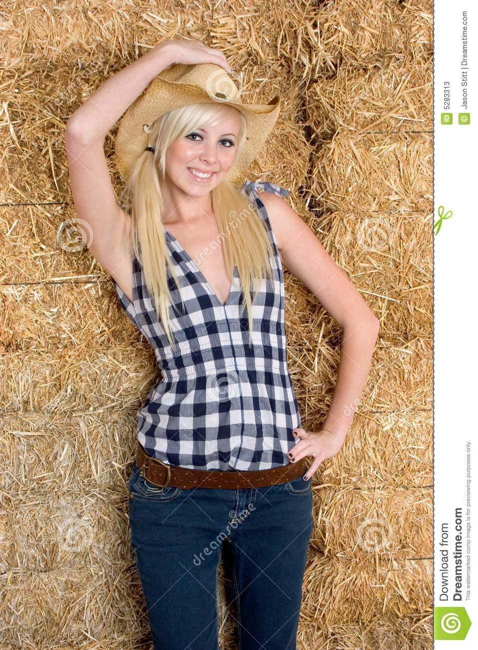 Blond Country Girl