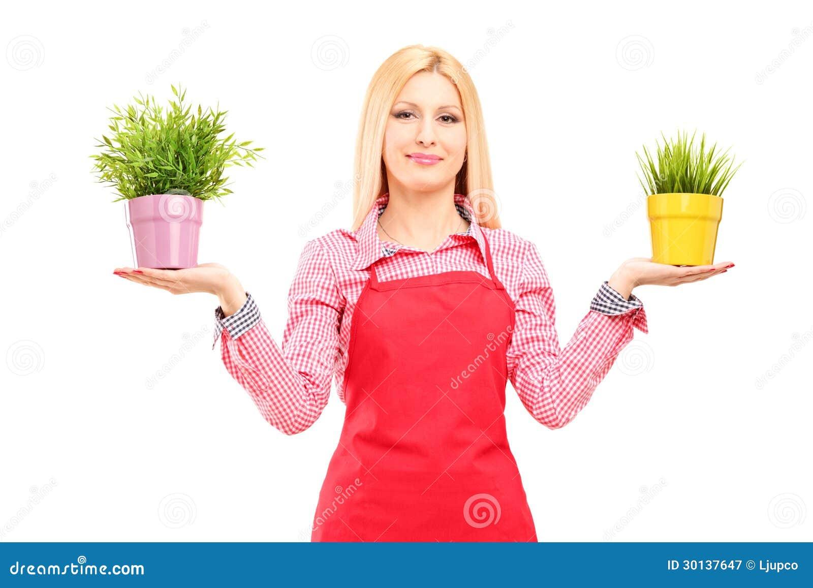 Садовник и блондинка 1 фотография