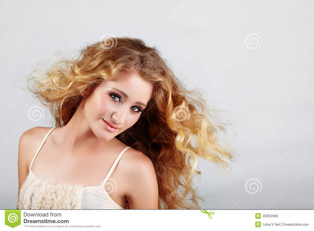 Bist teenage girl with blonde hair her
