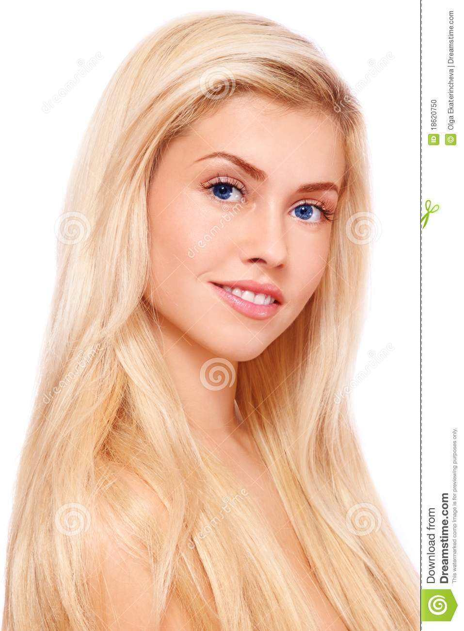 Blond Hair Stock Photo Image Of Lovely Care Beautiful 18620750