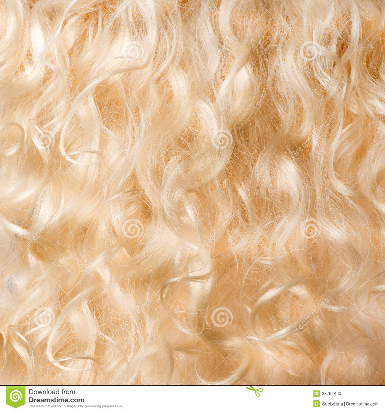 Blond Hair Background Stock Photo Image 28792490