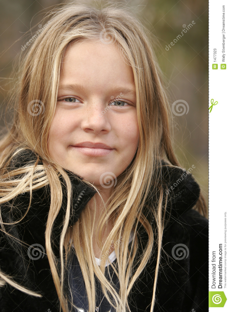 slordig vrouw blond