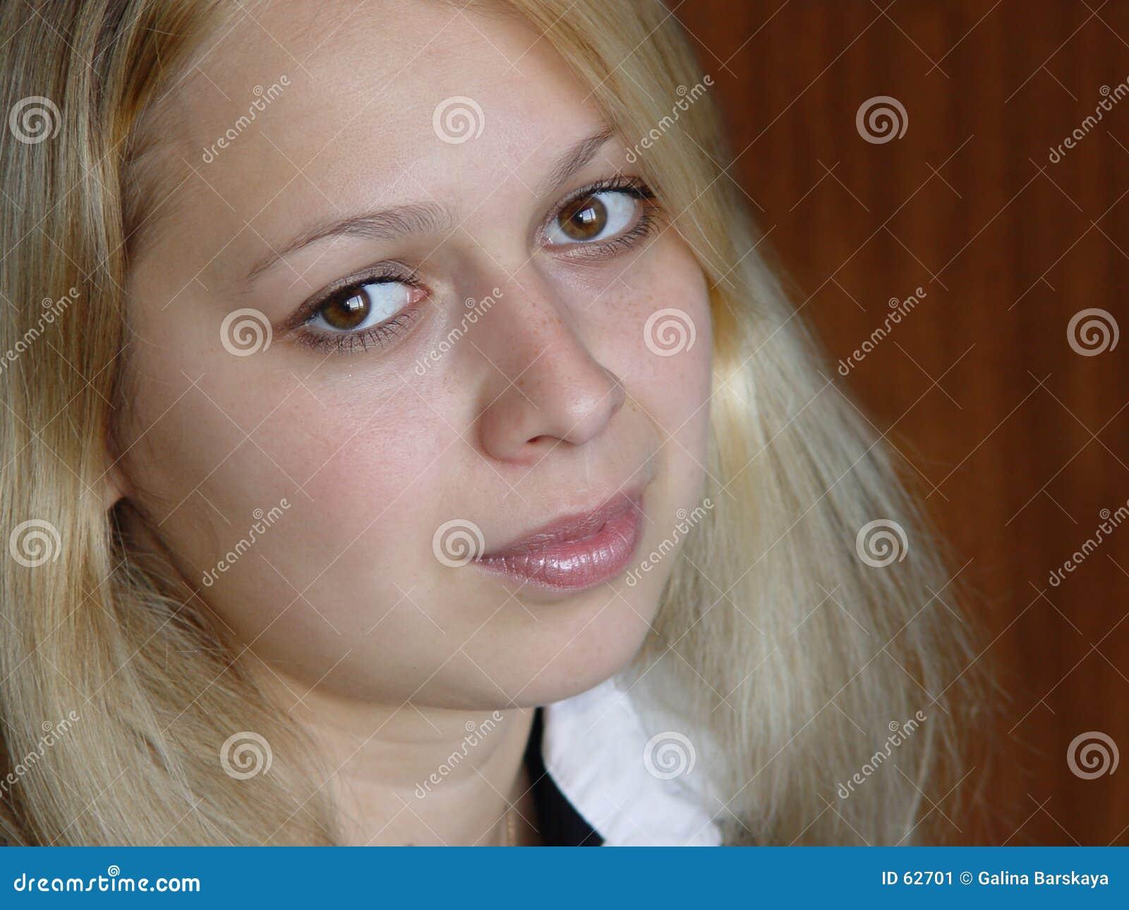Blond meisje