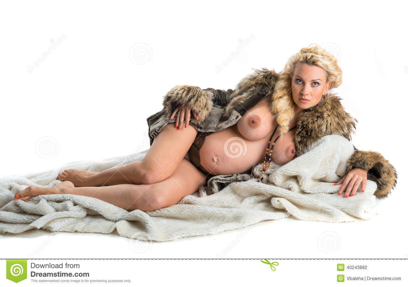 Women in fur nude consider, that