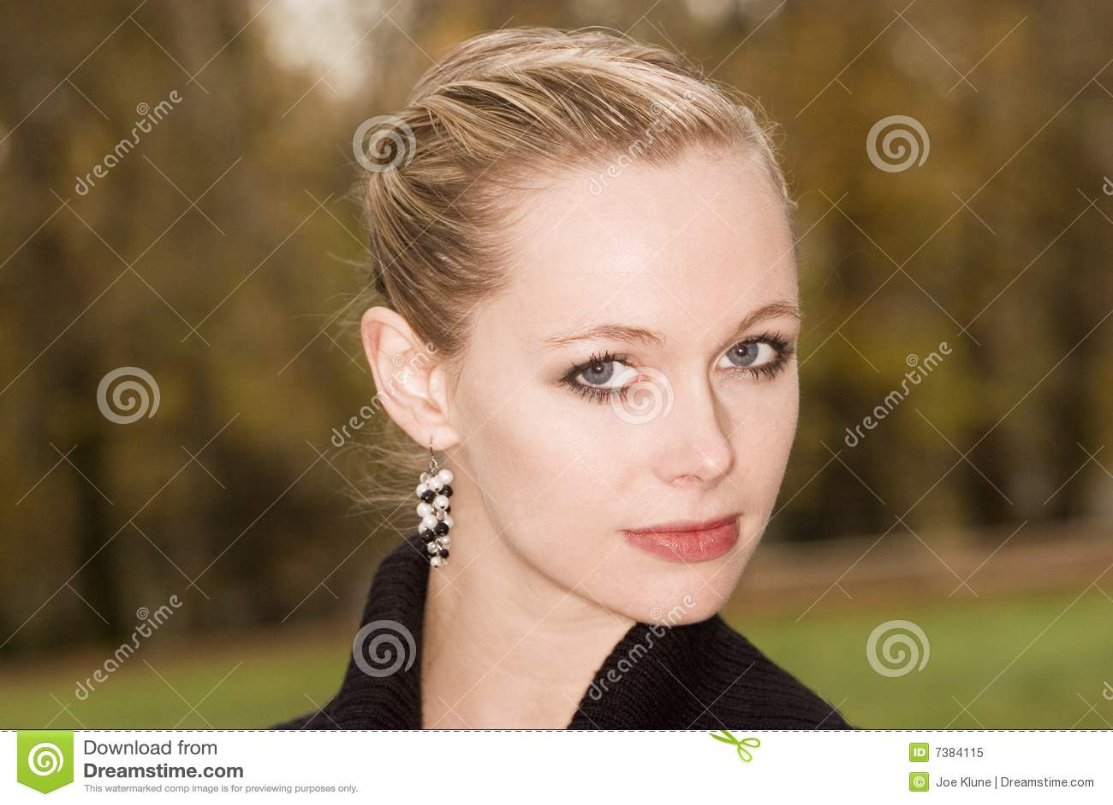 Blond portret