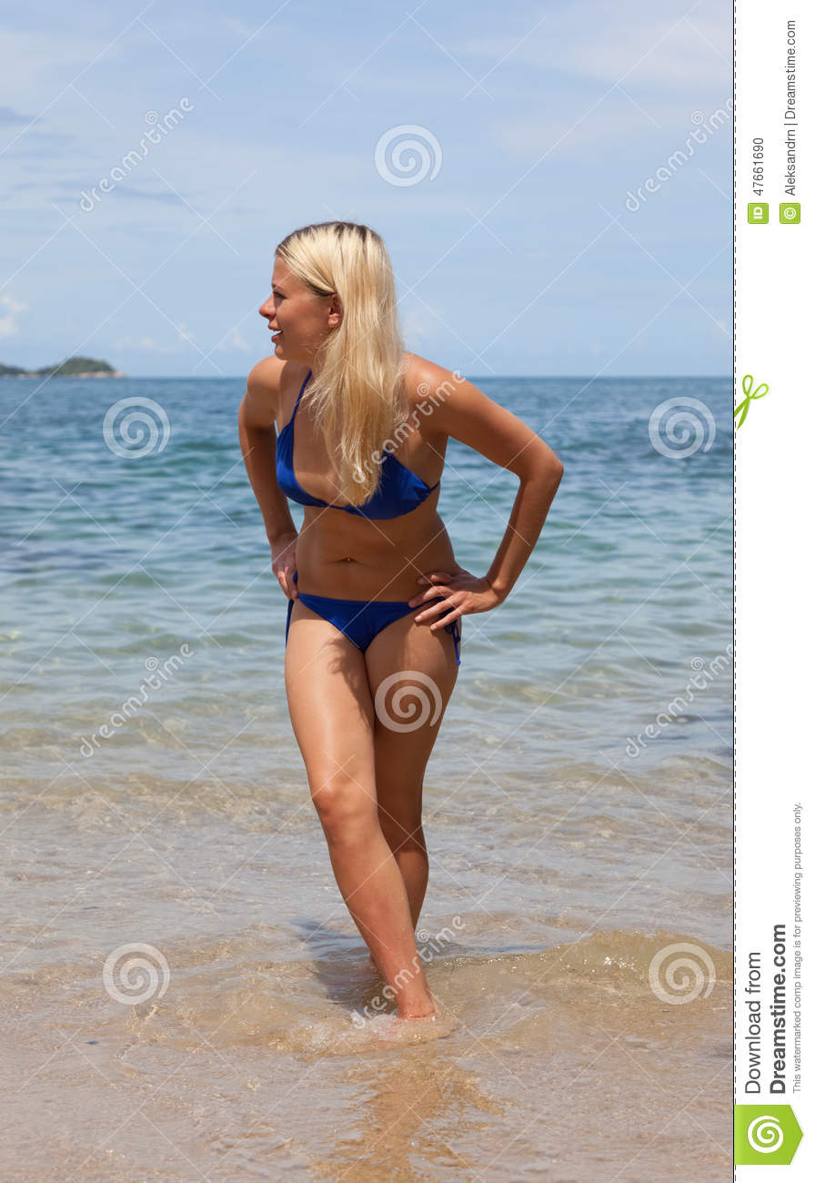 Blonde Bathing Suit 62