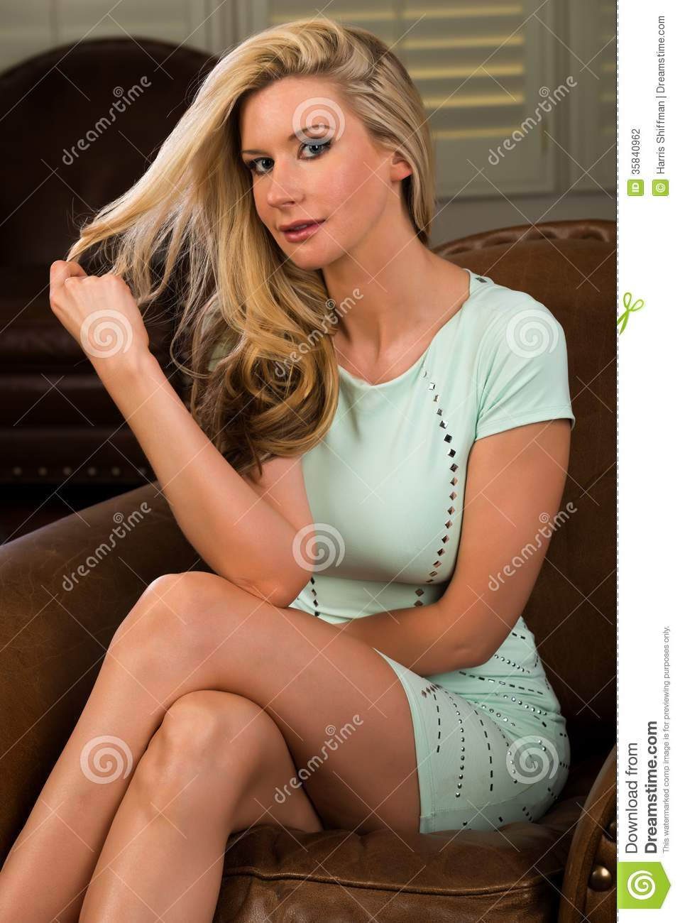 Blonde Stock Photography Image 35840962