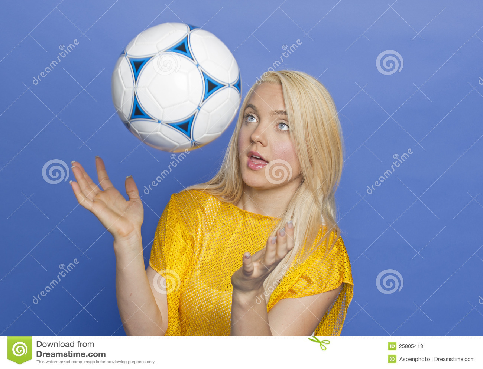 Blonde Soccer 31