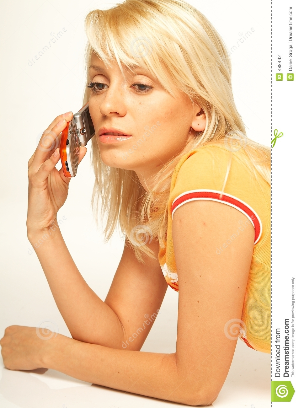 Business Woman On The Phone Stock Photo - Image: 5752334