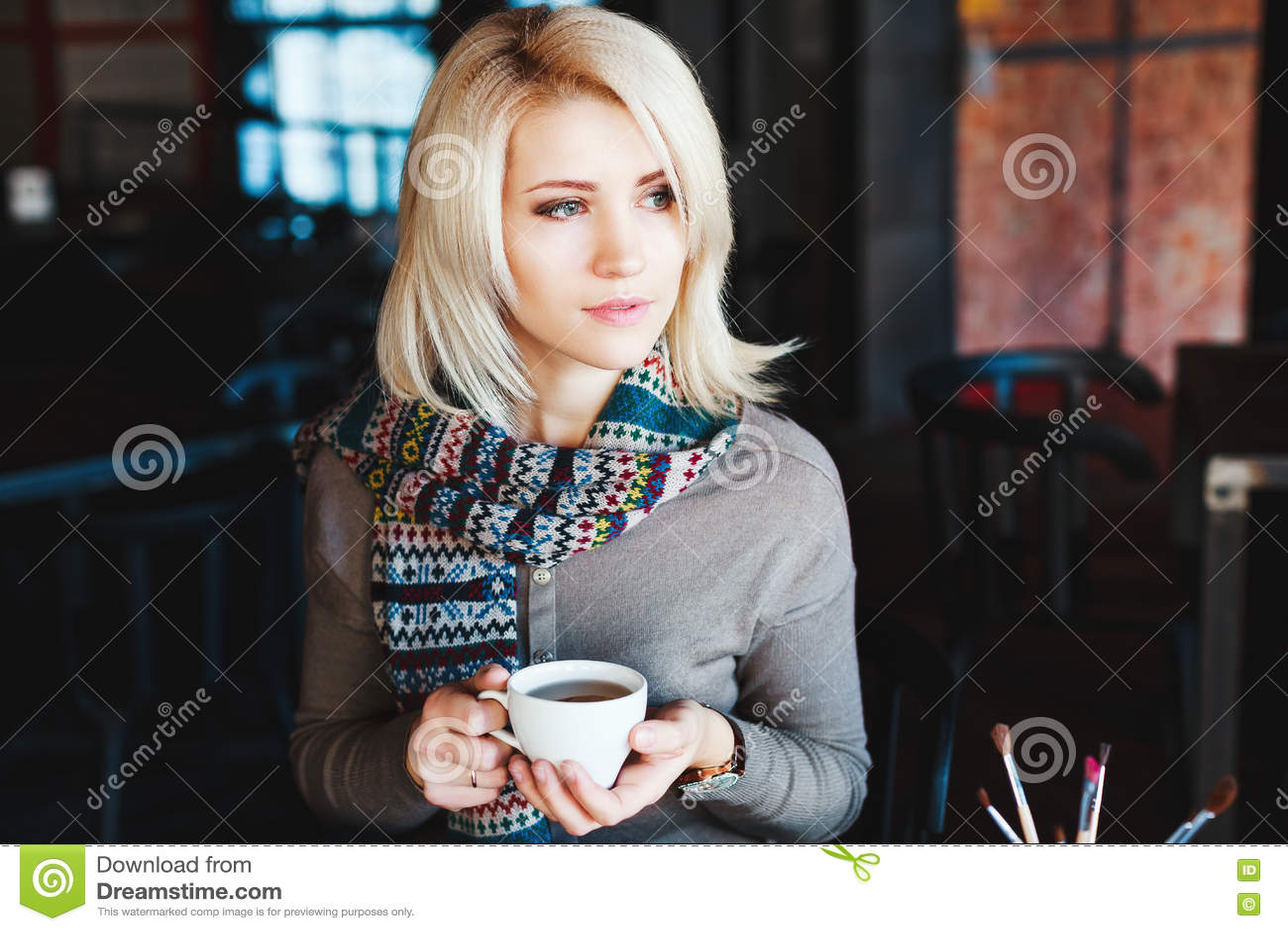 blonde c cup nude