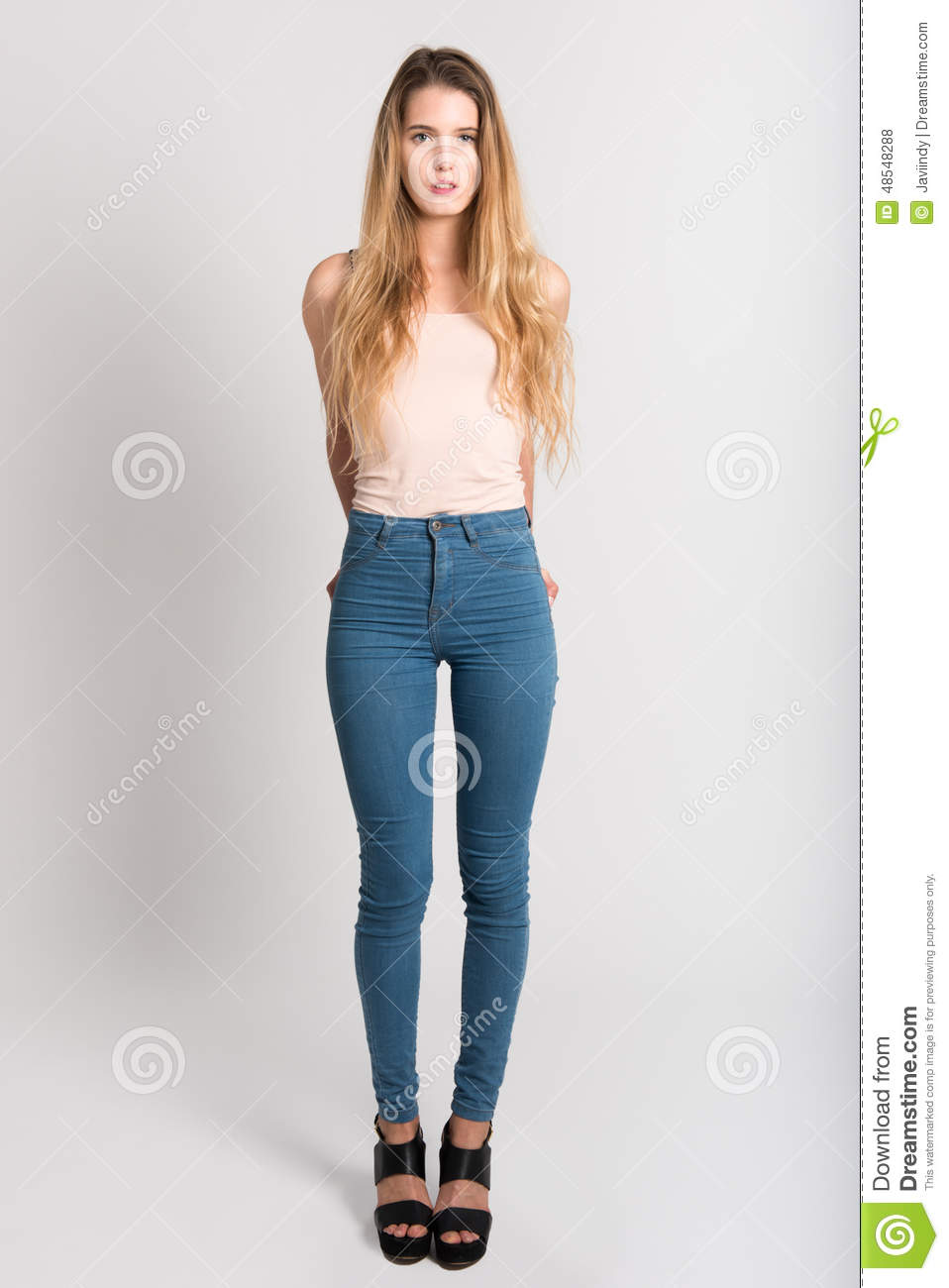 Sexy jeans thigh gap big booty 5
