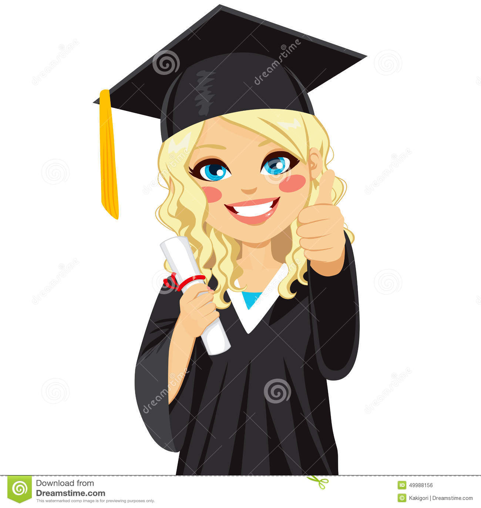 How to dress up a graduation girl in kindergarten 40