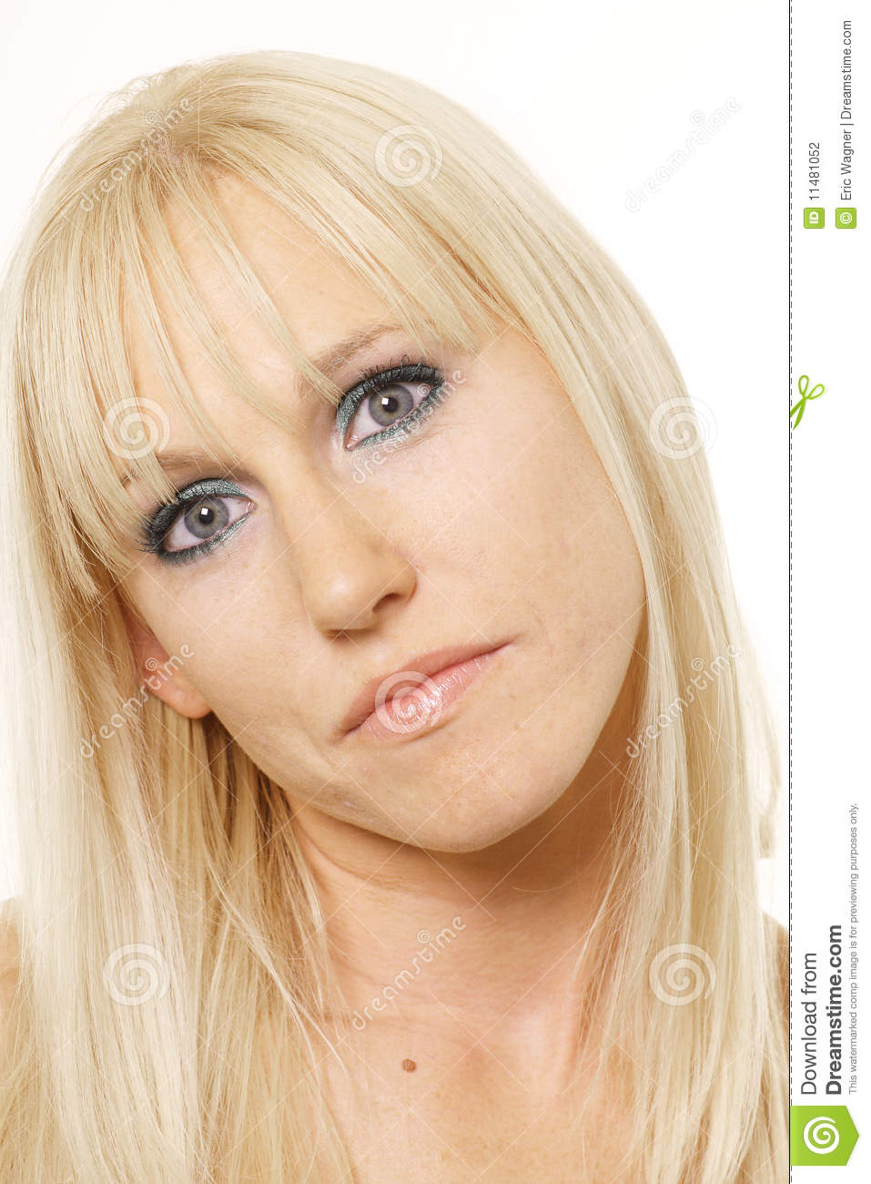Blonde With Head Tilted Stock Photography - Image: 11481052