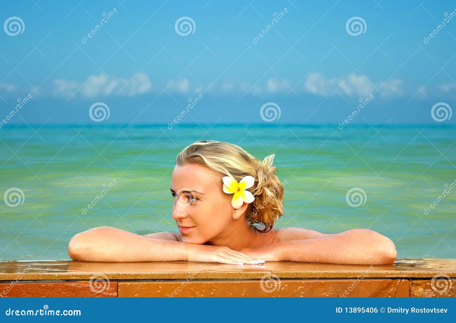 Blonde sull Hawai