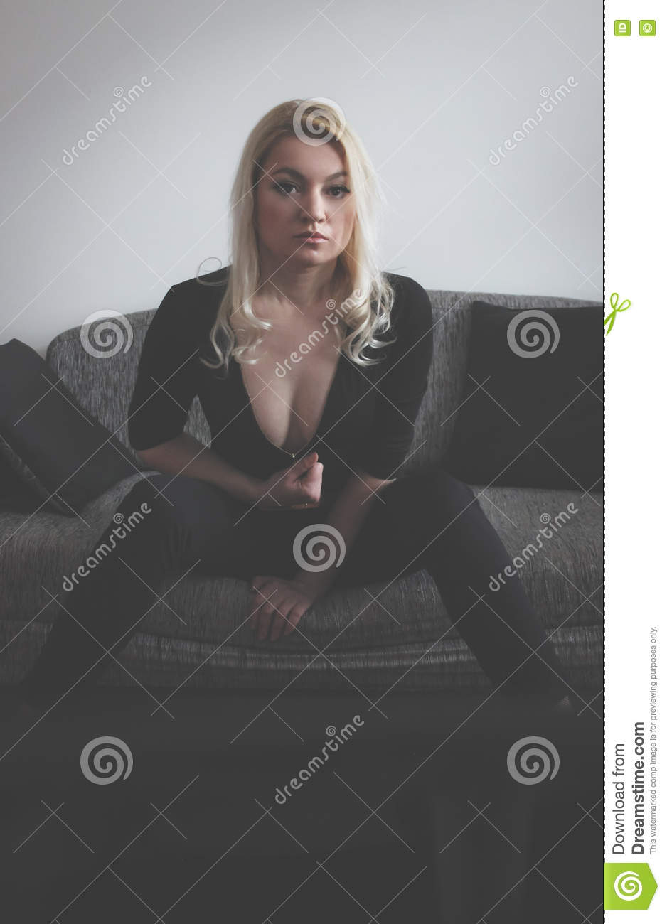 blonde undressing stock image. image of black, portrait - 76895143