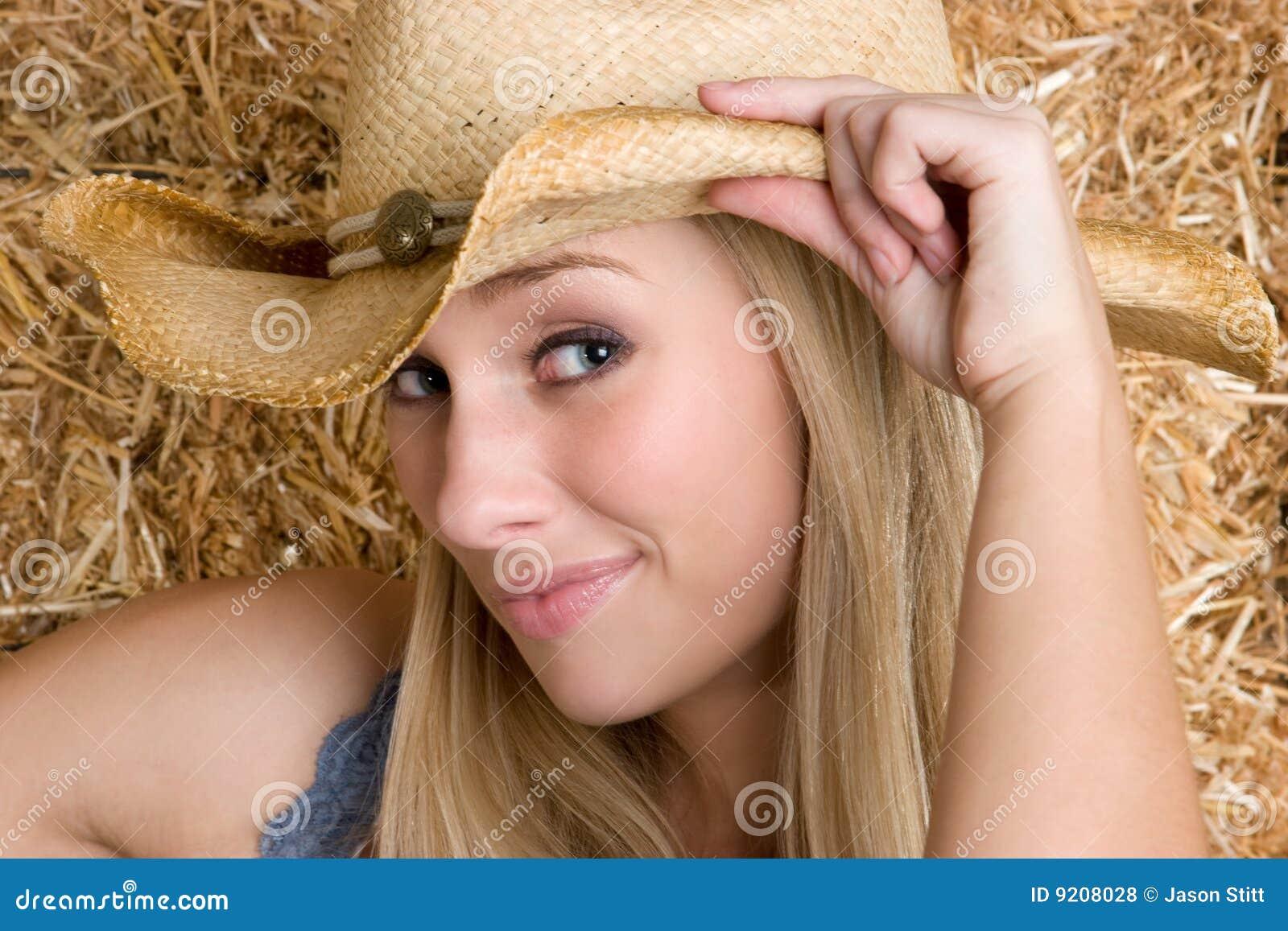 Blonde Veedrijfster